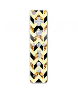 Black & Gold - Nintendo Wii Remote Skin