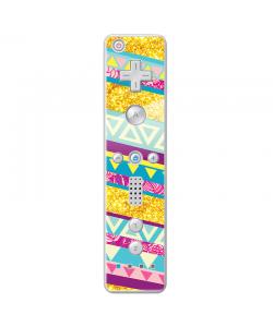Pretty Glitter - Nintendo Wii Remote Skin