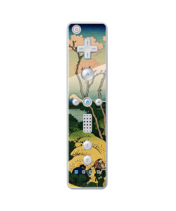 Hokusai - The Fuji from Gotenyama at Shinagawa on the Tokaido - Nintendo Wii Remote Skin