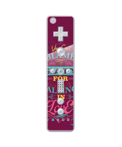 Falling in Love - Nintendo Wii Remote Skin