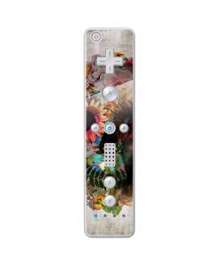 Spring skull - Nintendo Wii Remote Skin