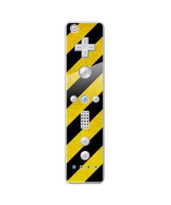 Caution - Nintendo Wii Remote Skin