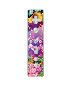 Universal Flowers - Nintendo Wii Remote Skin