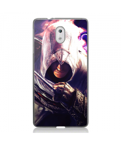 Assasin's Creed Altair - Nokia 3 Carcasa Transparenta Silicon