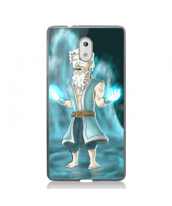 Clash Royale Mage - Nokia 3 Carcasa Transparenta Silicon