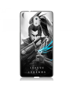 League of Legends Yasuo 2 - Nokia 3 Carcasa Transparenta Silicon