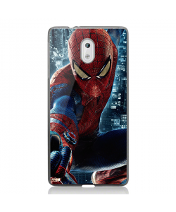 Spiderman 2 - Nokia 3 Carcasa Transparenta Silicon