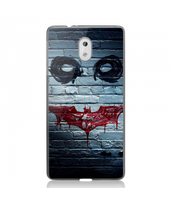 Batman/The Joker - Nokia 3 Carcasa Transparenta Silicon