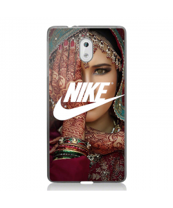 Indian Nike - Nokia 3 Carcasa Transparenta Silicon