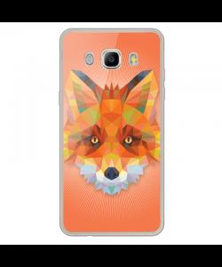 Origami Fox - Samsung Galaxy J7 Carcasa Silicon Transparent