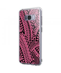 Pink & Black - Samsung Galaxy S8 Carcasa Premium Silicon