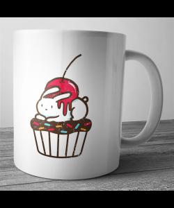 Cana personalizata - Cherry Bunny