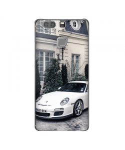 Porsche - Huawei P9 Plus Carcasa Transparenta Silicon