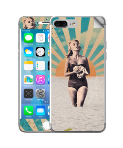 Retro Swim - iPhone 7 Plus Skin