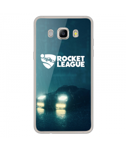 Rocket League 2 - Samsung Galaxy J7 2017 Carcasa Transparenta Silicon
