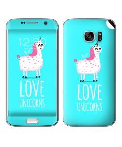 Love Unicorns - Samsung Galaxy S7 Skin