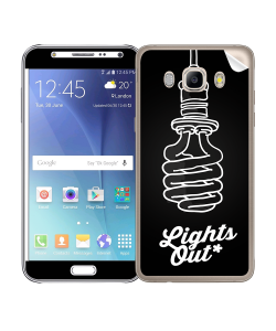 Lights Out - Samsung Galaxy J5 Skin