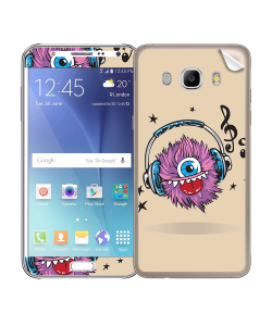 Fluffy Headphones - Samsung Galaxy J5 Skin