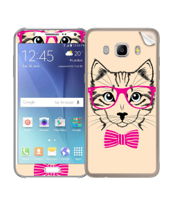 Hipster Cat - Samsung Galaxy J5 Skin