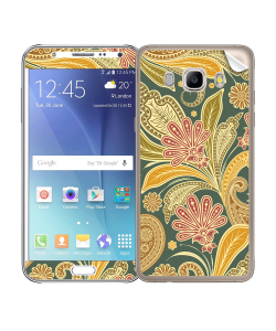 Floral Shapes - Samsung Galaxy J5 Skin