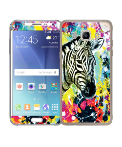 Zebra Splash - Samsung Galaxy J5 Skin