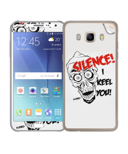 Silence I Keel You - Samsung Galaxy J5 Skin