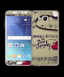 Soul Music - Samsung Galaxy J5 Skin