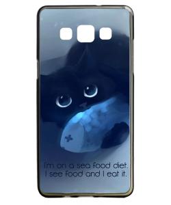 Sea Food - Samsung Galaxy A5 Carcasa Silicon