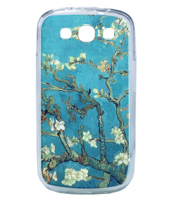 Van Gogh - Branches with Almond Blossom - Samsung Galaxy S3 Carcasa Silicon