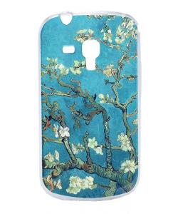 Van Gogh - Branches with Almond Blossom - Samsung Galaxy S3 Mini Carcasa Transparenta Plastic