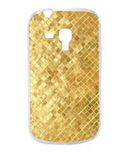 Squares - Samsung Galaxy S3 Mini Carcasa Transparenta Plastic