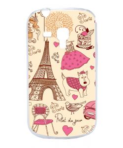 France - Samsung Galaxy S3 Mini Carcasa Transparenta Plastic