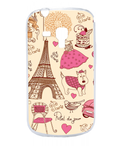 France - Samsung Galaxy S3 Mini Carcasa Transparenta Silicon