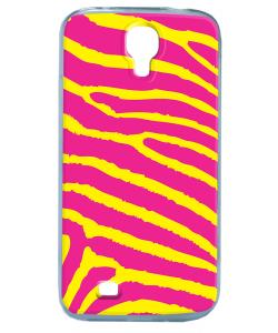 Model Zebra - Samsung Galaxy S4 Carcasa Transparenta Silicon