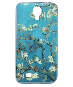 Van Gogh - Branches with Almond Blossom - Samsung Galaxy S4 Carcasa Silicon