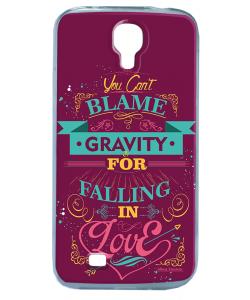 Falling in Love - Samsung Galaxy S4 Carcasa Silicon
