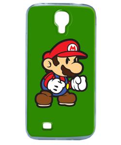 Mario One - Samsung Galaxy S4 Carcasa Transparenta Silicon