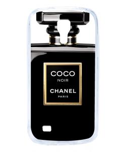 Coco Noir Perfume - Samsung Galaxy S4 Mini Carcasa Transparenta Silicon
