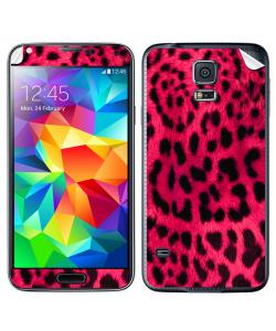 Pink Animal Print - Samsung Galaxy S5 Skin