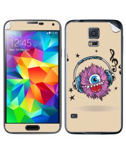 Fluffy Headphones - Samsung Galaxy S5 Skin