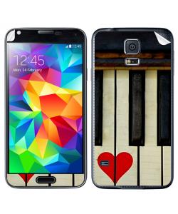 Piano Love - Samsung Galaxy S5 Skin