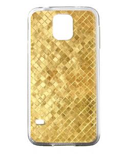 Squares - Samsung Galaxy S5 Mini Carcasa Silicon