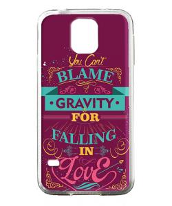 Falling in Love - Samsung Galaxy S5 Mini Carcasa Silicon