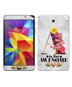 A is for Awesome - Samsung Galaxy Tab Skin