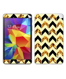 Black & Gold - Samsung Galaxy Tab Skin