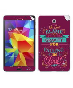 Falling in Love - Samsung Galaxy Tab Skin