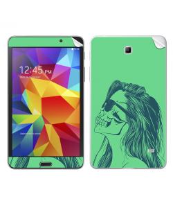 Skull Girl - Samsung Galaxy Tab Skin