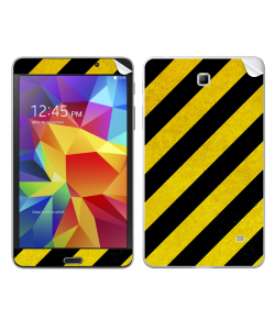 Caution - Samsung Galaxy Tab Skin