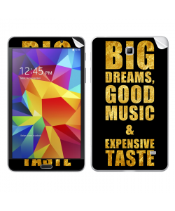 Good Music Black - Samsung Galaxy Tab Skin
