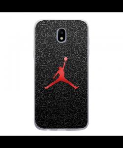 Jordan Red - Samsung Galaxy J5 2017 Carcasa Silicon